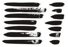 Le pinceau de calligraphie raye le détail élevé que le fond de vecteur de résumé a placé 87 illustration de vecteur