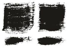 Le pinceau les lignes que larges détaillent haut le fond abstrait de vecteur a placé 87 illustration libre de droits