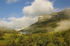 Le Pinet, Bergen Chartreuse Royalty-vrije Stock Foto