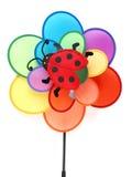 Le pinwheel des enfants colorés Images stock