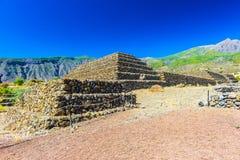 Le piramidi Fotografia Stock