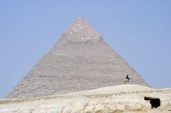 Le piramidi fotografie stock