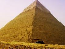 Le piramidi e la Sfinge di Giza nell'Egitto, Medio Oriente Immagine Stock Libera da Diritti
