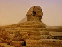 Le piramidi e la Sfinge di Giza nell'Egitto, Medio Oriente Fotografia Stock