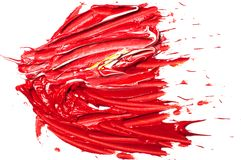 Le pitture ad olio degli artisti hanno colorato il fondo illustrazione di stock