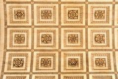 Le plafond dans l'Arc de Triomphe, Paris Photographie stock