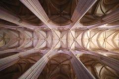 Le plafond de l'église Images libres de droits