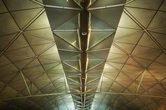 Le plafond de l'aéroport Image libre de droits