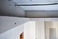 Le plafond de la plaque de plâtre Images stock