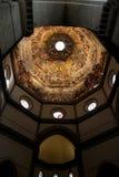 Le plafond du Duomo à Florence, Italie Comporter nombreux images stock