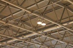 Le plafond et le toit du bâtiment Image stock
