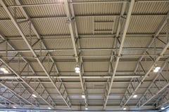 Le plafond et le toit du bâtiment Photographie stock