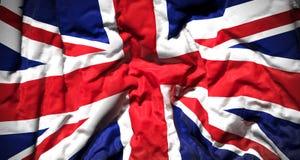 Le plan rapproché de drapeau du Royaume-Uni illustration libre de droits