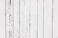 Struttura di legno bianca delle plance. Verticale. Fotografia Stock