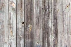 Le plance di legno della parete hanno dipinto il bianco grigio Fotografie Stock