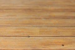 Le plancher en bois est une texture Photographie stock
