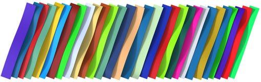 Le plastique ceinture le fond Photographie stock