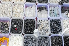 Le plastique partie des plateaux Image libre de droits
