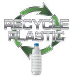 le plastique réutilisent Photo stock