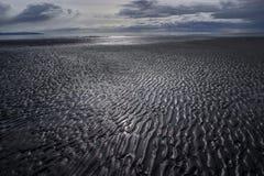 Le plat de boue modèle à marée basse photo libre de droits