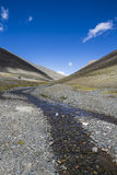 Le plateau tibétain Photographie stock libre de droits