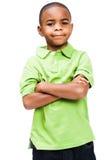 le plattform för pojke royaltyfria foton
