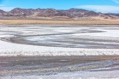 Le playa désolé le long de la route 50 Photographie stock libre de droits