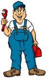 Le plombier Photos libres de droits