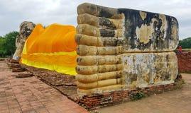 Le plus grand Bouddha étendu photos libres de droits