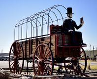 Le plus grand chariot de World's Photographie stock