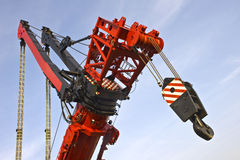 le plus grand monde mobile de grue Images stock