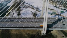 Le plus grand pont au monde, vue aérienne clips vidéos