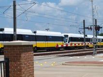 Le plus grand système à rails léger aux USA Photos stock