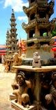 Le plus grand temple en Thaïlande (temple de Phra Kaew) Image libre de droits