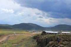 Le plus haut bar en Afrique, la loge de montagne de sani, passage de sani, Lesohto Images stock