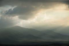Le plus long coucher du soleil Photos libres de droits