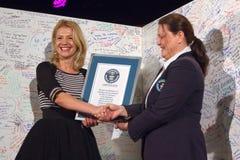 Le plus long record mondial de lettre d'amour Image libre de droits