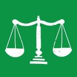 Le poids mesure l'illustration Image libre de droits