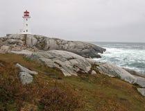 Le point de Peggy, la Nouvelle-Écosse, CA Photos stock