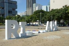 le point de repère de Rio de Janeiro est des dommages sur 14-01-2019 photos libres de droits