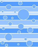 Le point entoure le bleu illustration stock