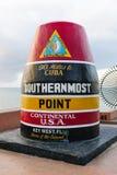 Le point le plus le plus au sud aux Etats-Unis continentaux, Key West, la Floride Photo stock