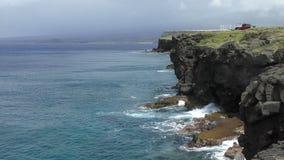 Le point le plus le plus au sud Hawaï banque de vidéos