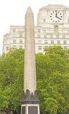 Le pointeau de Cléopâtre, Londres Photographie stock