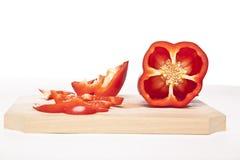 Le poivron rouge Images libres de droits