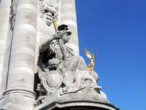 Le Pont Alexandre III Images stock