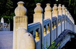 Le pont antique, palais d'été, Pékin Photo libre de droits
