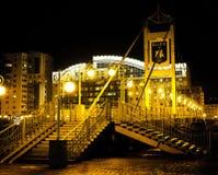 Le pont après la pluie Photographie stock libre de droits