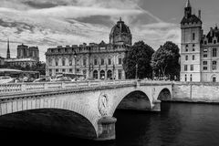 Le Pont au Change Stock Photo