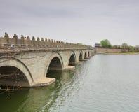 Le pont célèbre de lugouqiao, adobe RVB image stock